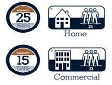 Δάπεδα φελλού Wicanders CorkComfort με εγγύηση 25 χρόνια για οικιακή χρήση και 15 για επαγγελματική.