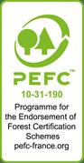 Chêne de l'est - προδιαγραφές PEFC