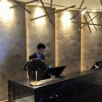 Έτοιμοι Καπλαμάδες Μαρκετερί TABU - Ρεσεψιόν ξενοδοχείου