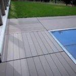 Σύνθετα ξύλινα δάπεδα WPC DECK WERZALIT - Πατώματα ENTERO, πισίνα ξενοδοχείου λεπτομέρεια