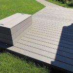 Σύνθετα ξύλινα δάπεδα WPC DECK WERZALIT - Πατώματα ENTERO, διάβαση-μονοπάτι