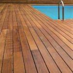 Ξύλινα Δάπεδα Εξωτερικών Χώρων WOOD DECK - Iroko semi secret fix πισίνα