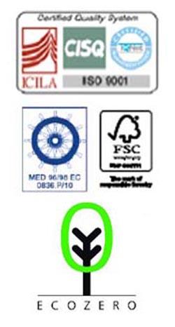Ανακατασκευασμένοι καπλαμάδες TABU - Προδιαγραφές και πιστοποιήσεις