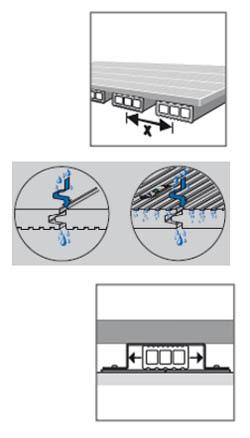 Σύνθετα ξύλινα δάπεδα WPC DECK WERZALIT - αποτελούν πλήρη συστήματα τοποθέτησης