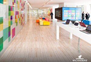 Η Microsoft επιλέγει τα φυσικά δάπεδα φελλού Wicanders